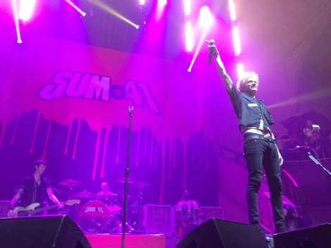Sum 41 Live at Manchester's Albert Hall