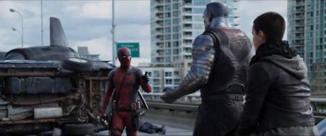 Deadpool meets Colossus and Negasonic Teenage Warhead