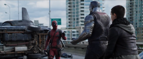 Deadpool meets Colossus and Negasonic Teenage Warhead