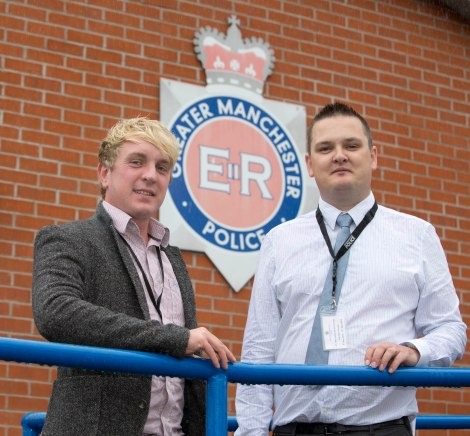 GMP student officers and Dan Marshall and Chris Hatton 2