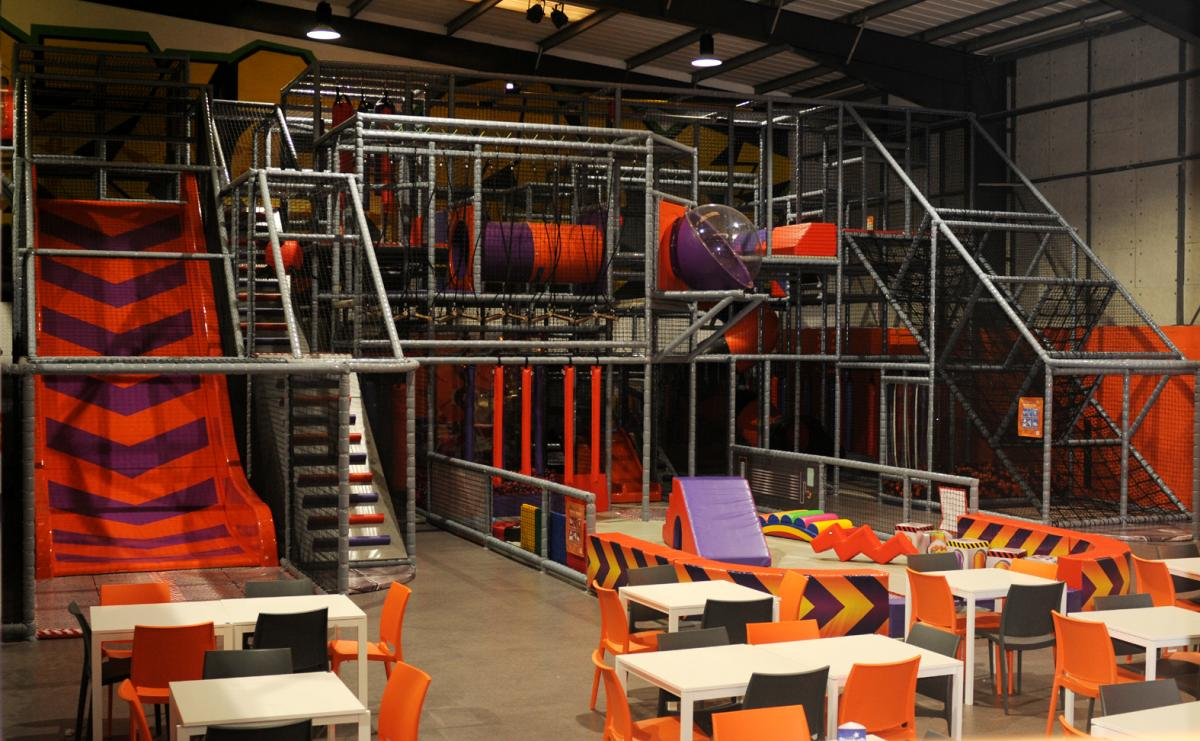 Jump Xtreme Trampoline Centre In Trinity Retail Park Adds 250k Soft Play Area Nathan Smith